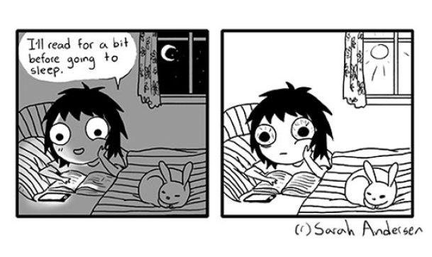 funny-Sarah-Andersen-book-reading-night