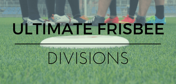 ultimate frisbee divisions
