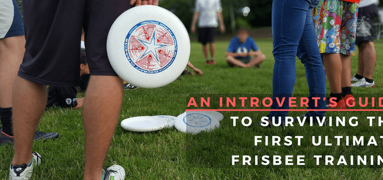 ultimate frisbee first training
