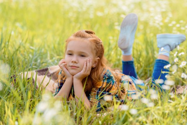Born this way, Introvert Lessons, sunny field