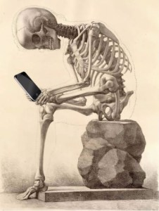 skeleton smart phone-2