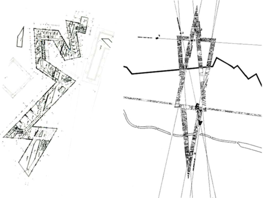 Jewish Museum Daniel Libeskind Drawings Sketch Coloring Page