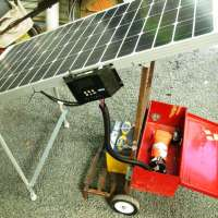 DIY Solar Powered Water Pump