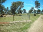 erect fencing creating 3 paddocks to keep goats in