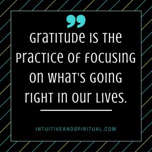 Gratitude focus