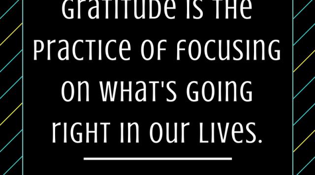 Gratitude on the Bad Days