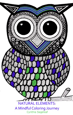owl coloring mindfulness book