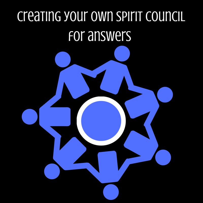 Creating your own spiritual council for answers