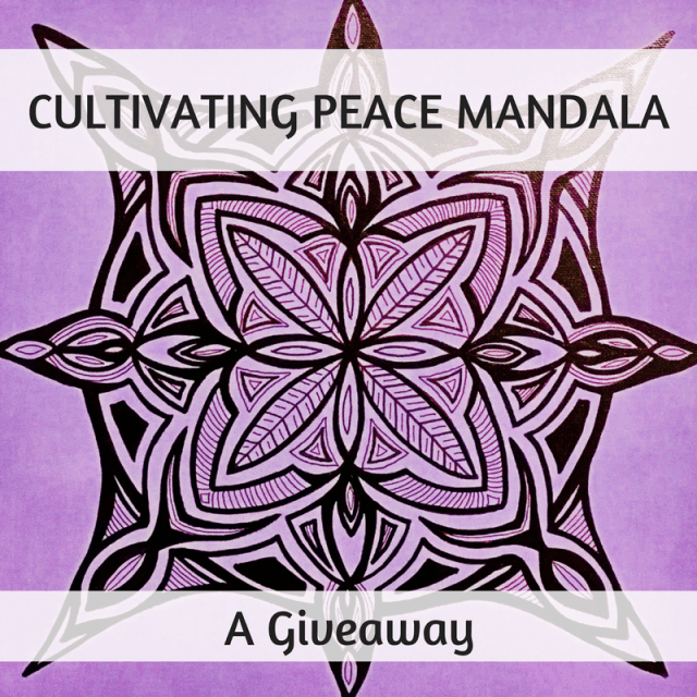 Cultivating Peace Mandala + Giveaway