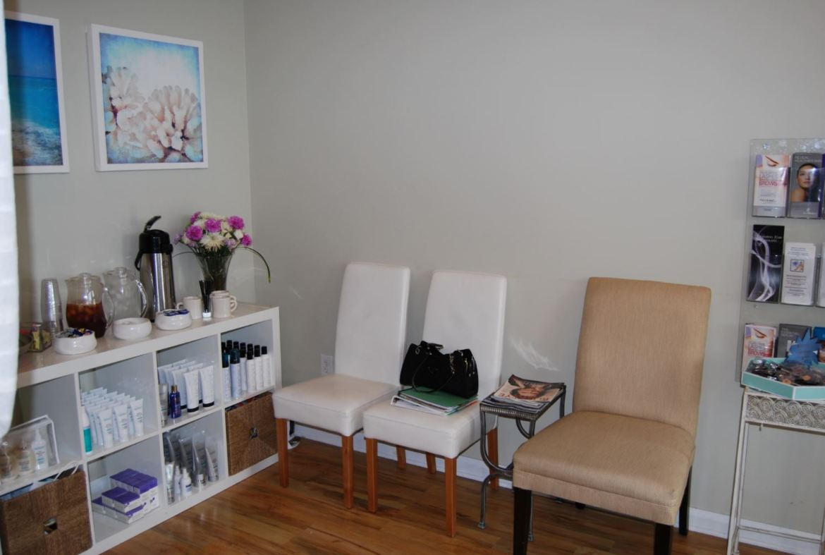 Skin Perfect Spa Reception Before