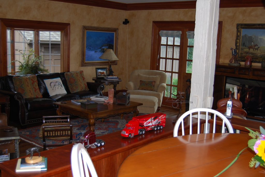 Evans Family Room After