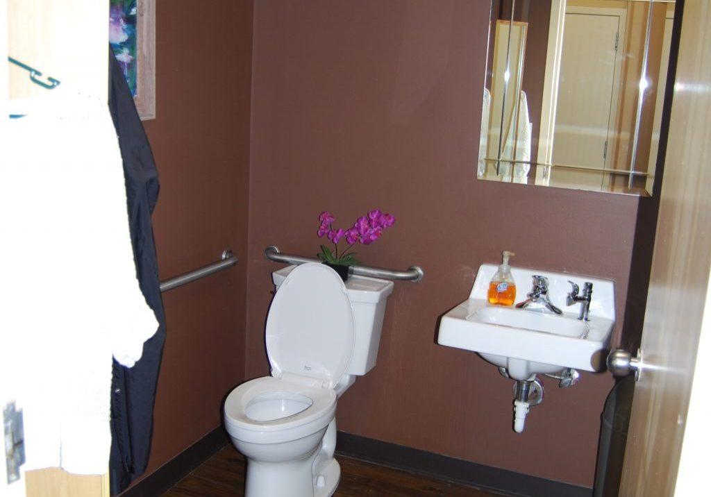 Skin Perfect Studio Restroom Before