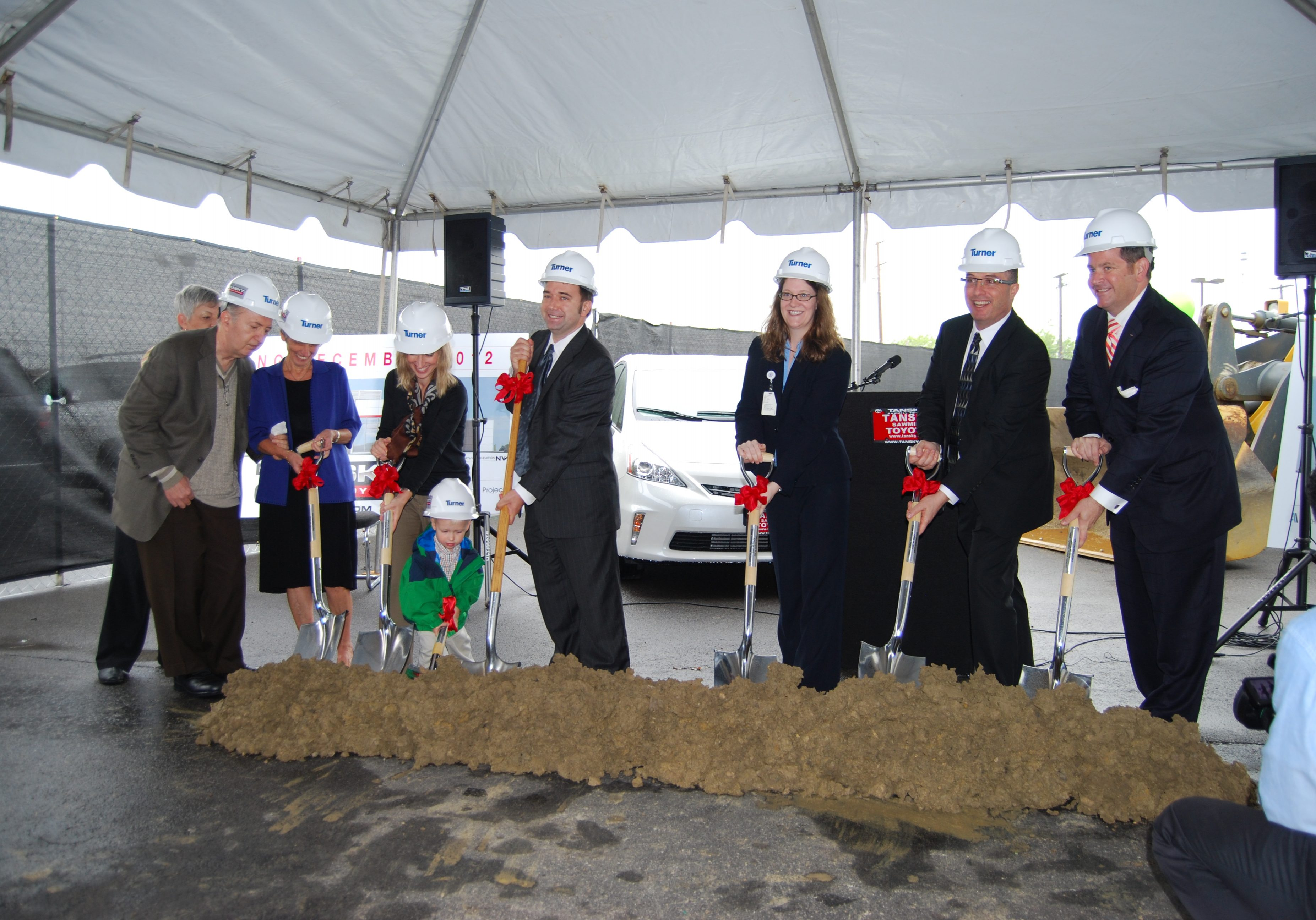 Tansky Toyota Ground Breaking