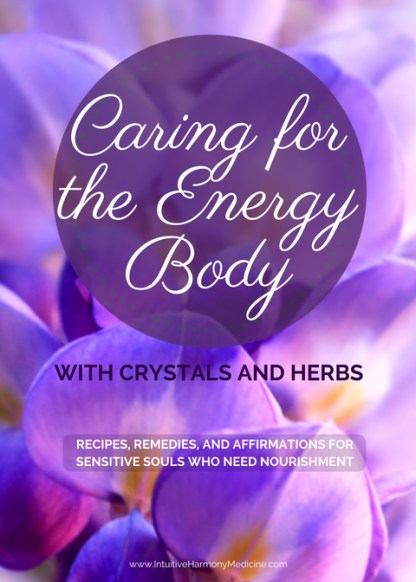 caring for the energy body flower cover
