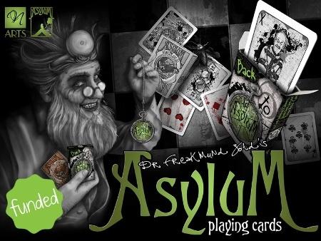 asylum playing cards