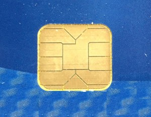 chip closeup, chip and pin credit card