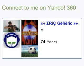 yahoo link spam