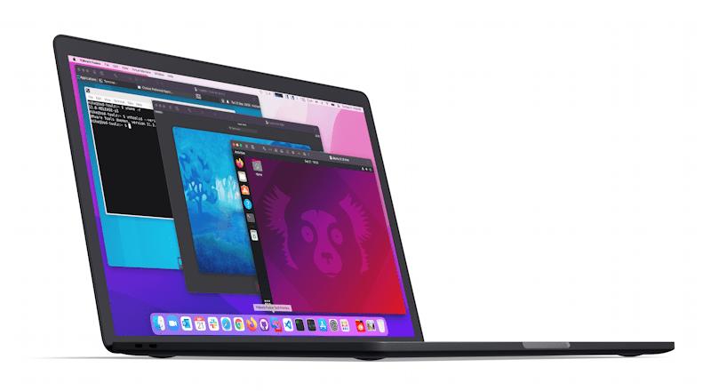 vmware fusion on apple m1 cpu macbook