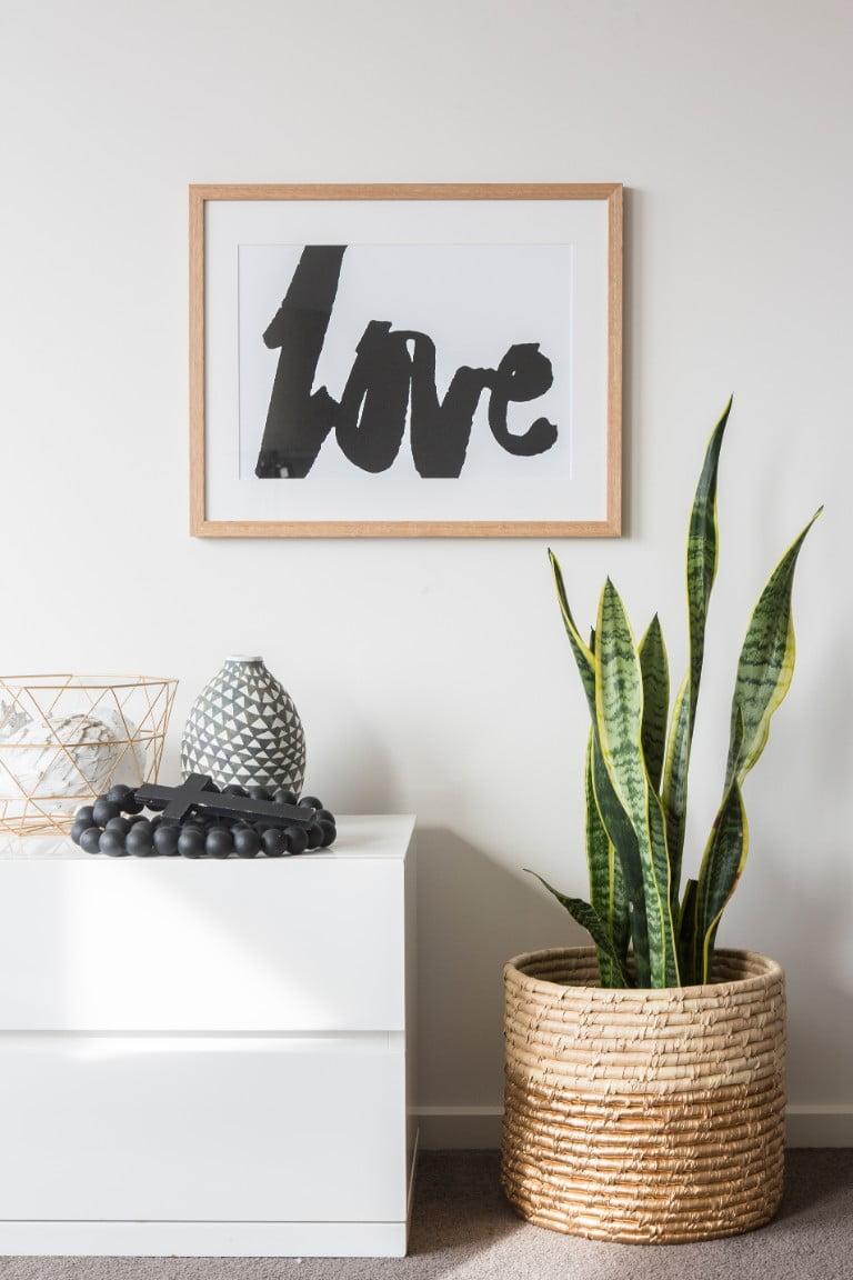 Rachel Kennedy Designs Black Love Framed Wall Art.jpg
