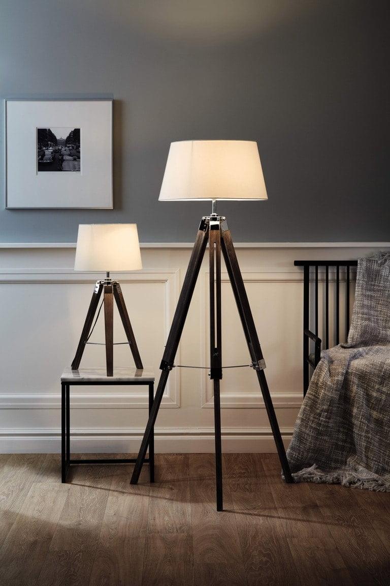 Aldi Spring Home 2018 Wooden Tripod Lamps