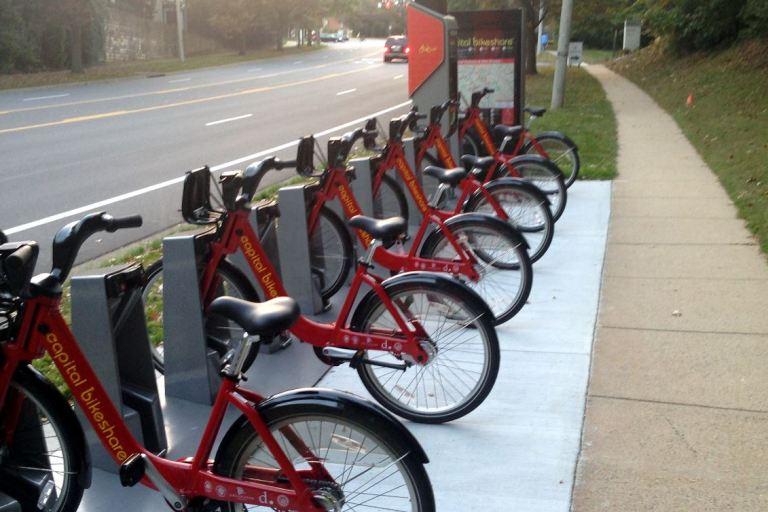 Bikeshare Tysons on Westpark Drive