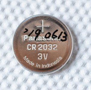 新品電池に使用開始の日付
