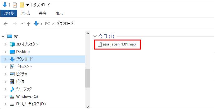 マップデータファイル_PCに保存