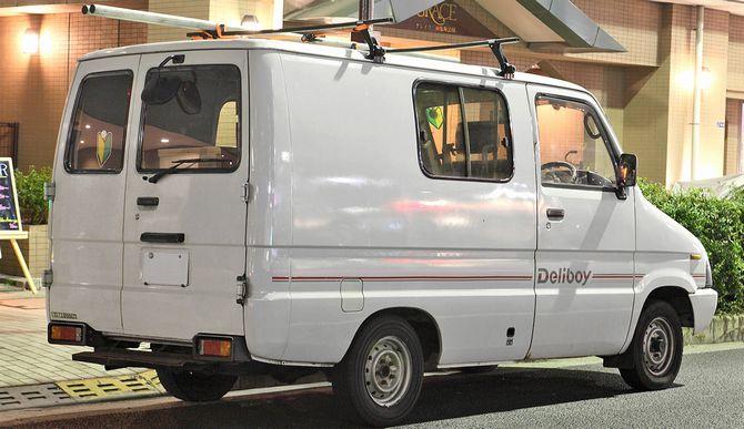 キッチンカーに改造可能な軽自動車:ダイハツミラウォークスルーバン
