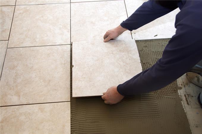 gorgeous ceramic tile installation