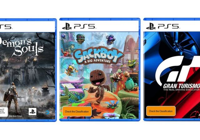 PS5 box art
