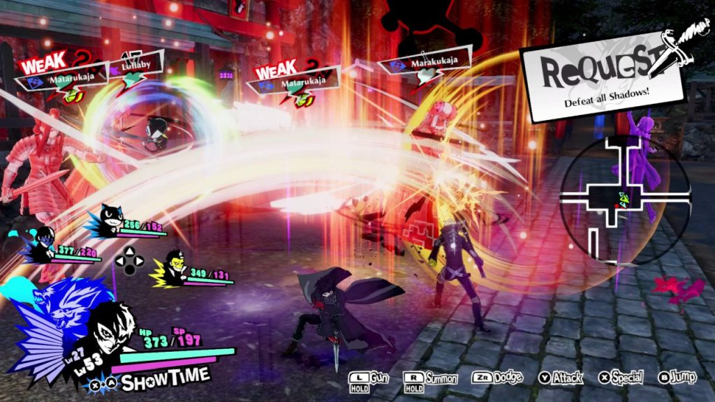 Persona 5 Strikers Switch 01
