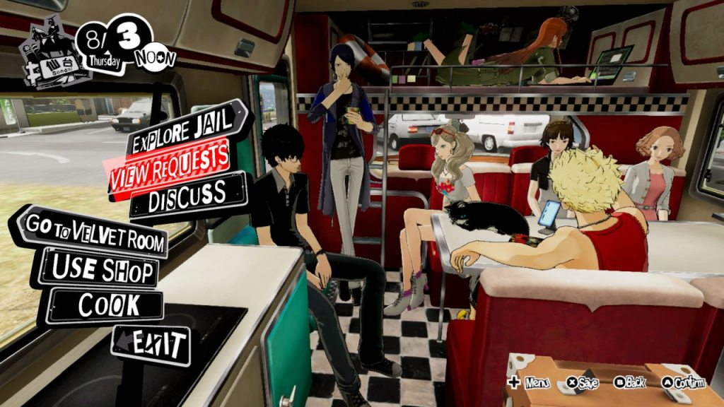 Persona 5 Strikers Switch 03