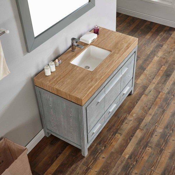 small modern vanity with wood sink vanity tops wildomar