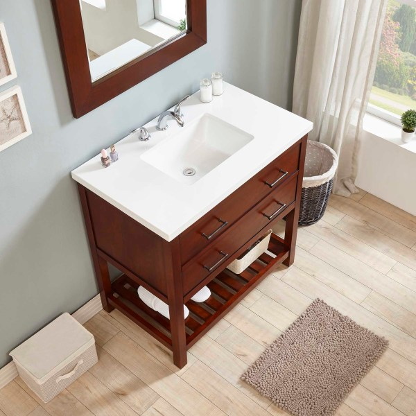white top marble top bathroom clearance furniture riverside
