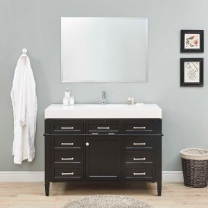 single sink vanity hemet, ca bathroom floor cabinet