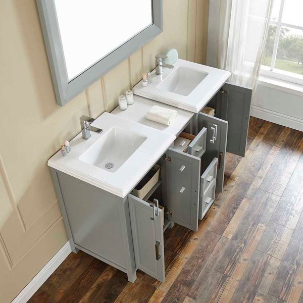 60 double sink vanity vanity table hemet vanity