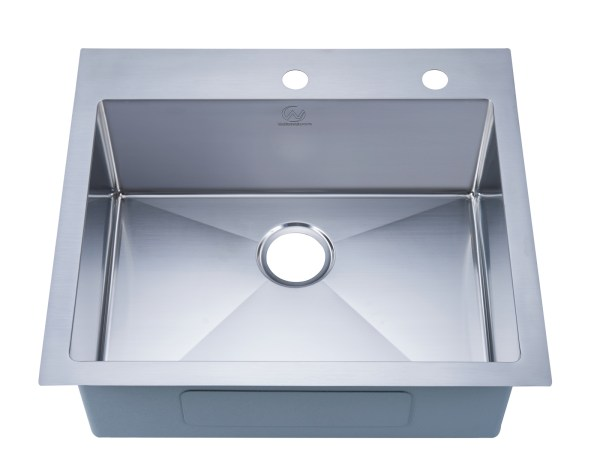 stainless steel satin nickel finish kitchen sink fontana, ca