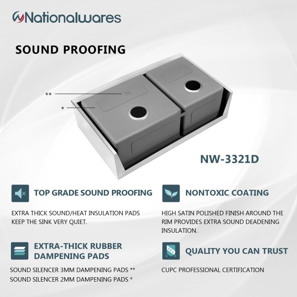 non-toxic sound proofing sink pads kitchen sink jurupa valley, ca