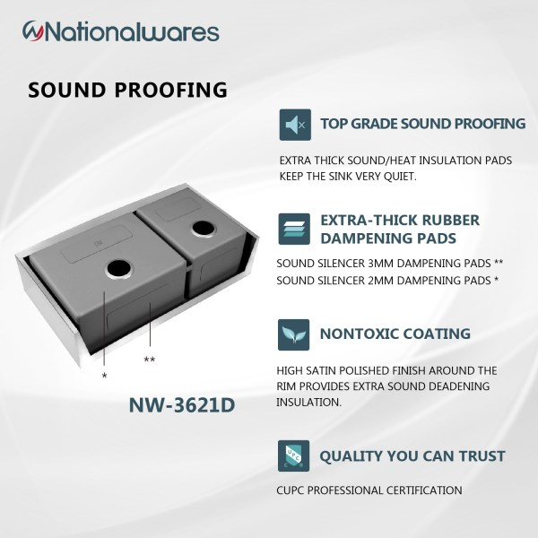 quality sound proofing sink pads in riverside, ca and the surrounding areas