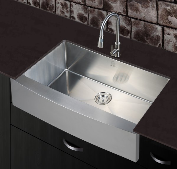 riverside stainless steel kitchen sink with stainless steel faucet