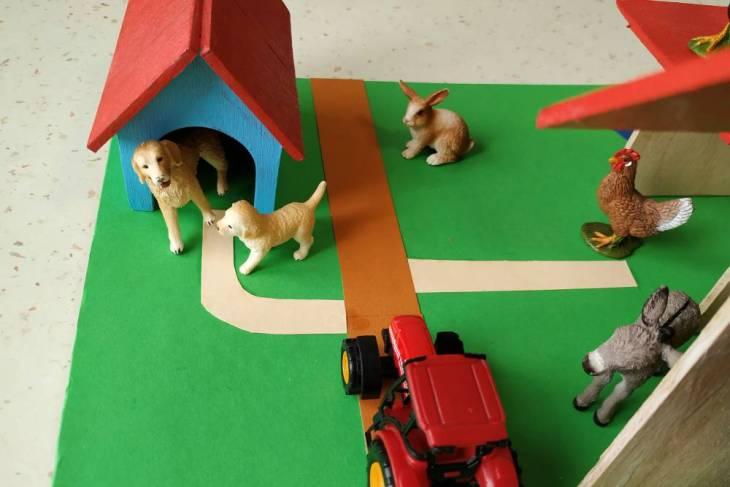 Cuşca câinelui - Ferma animalelor şi figurinele Schleich