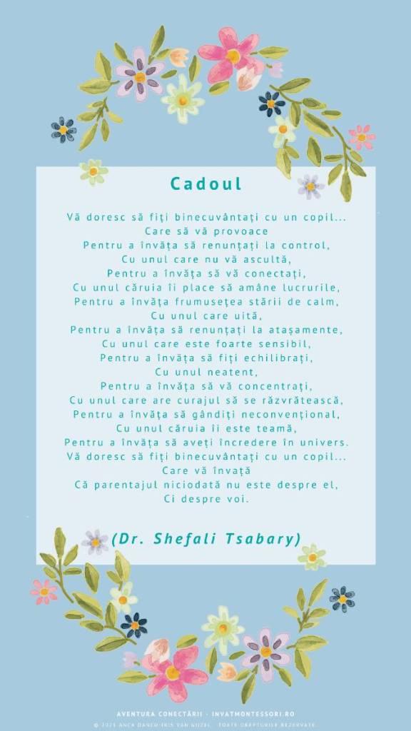 Cadoul, de Dr. Shefali Tsabary