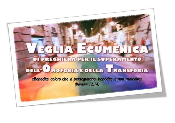 Manifesto della Fiaccolata e veglia per il superamento dell'omotrasfobia di Palermo del 17 maggio 2017