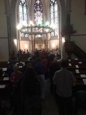 Da TRIESTE dalla Veglia per le vittime dell'omo-transfobia e di ogni forma di discriminazione nella Chiesa Luterana di Trieste di Sabato 13 maggio 2017