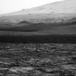 NASA Rover Captures Shadowy Dust Devil Whirling Around Mars