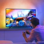 The new Philips Hue lightstrip mounts to your TV and syncs with what's on-screen