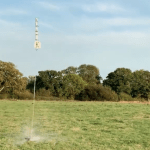 Engineering Student Launches 100 MPH Water Rocket