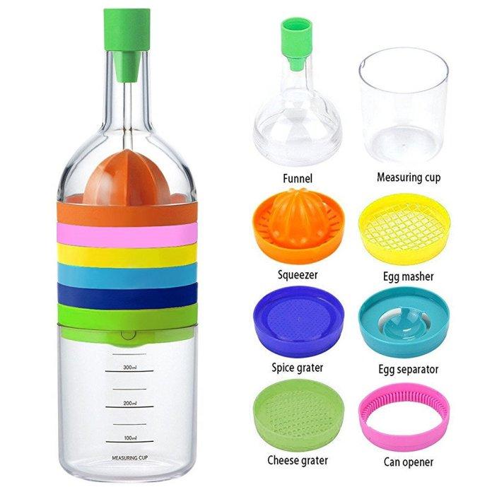 PuTwo 8 en 1 - Une bouteille multifonction