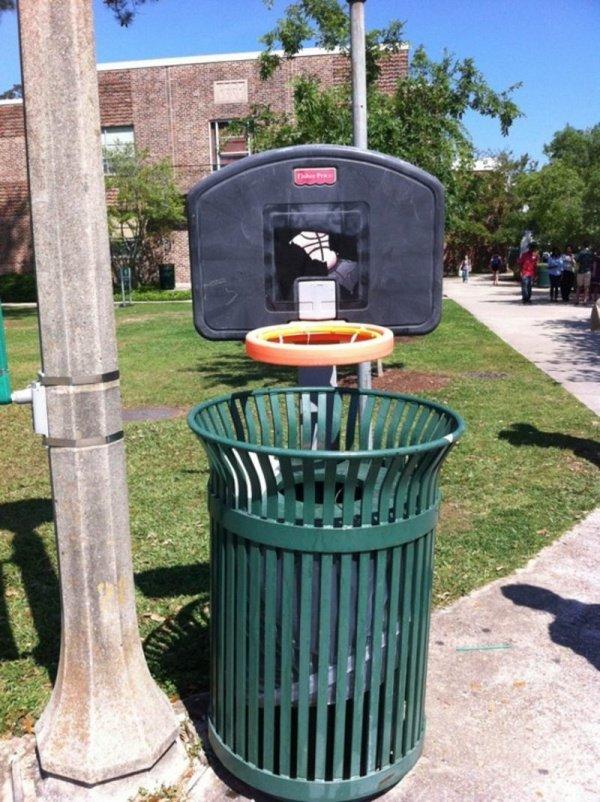 Un bac à ordure original et pratique