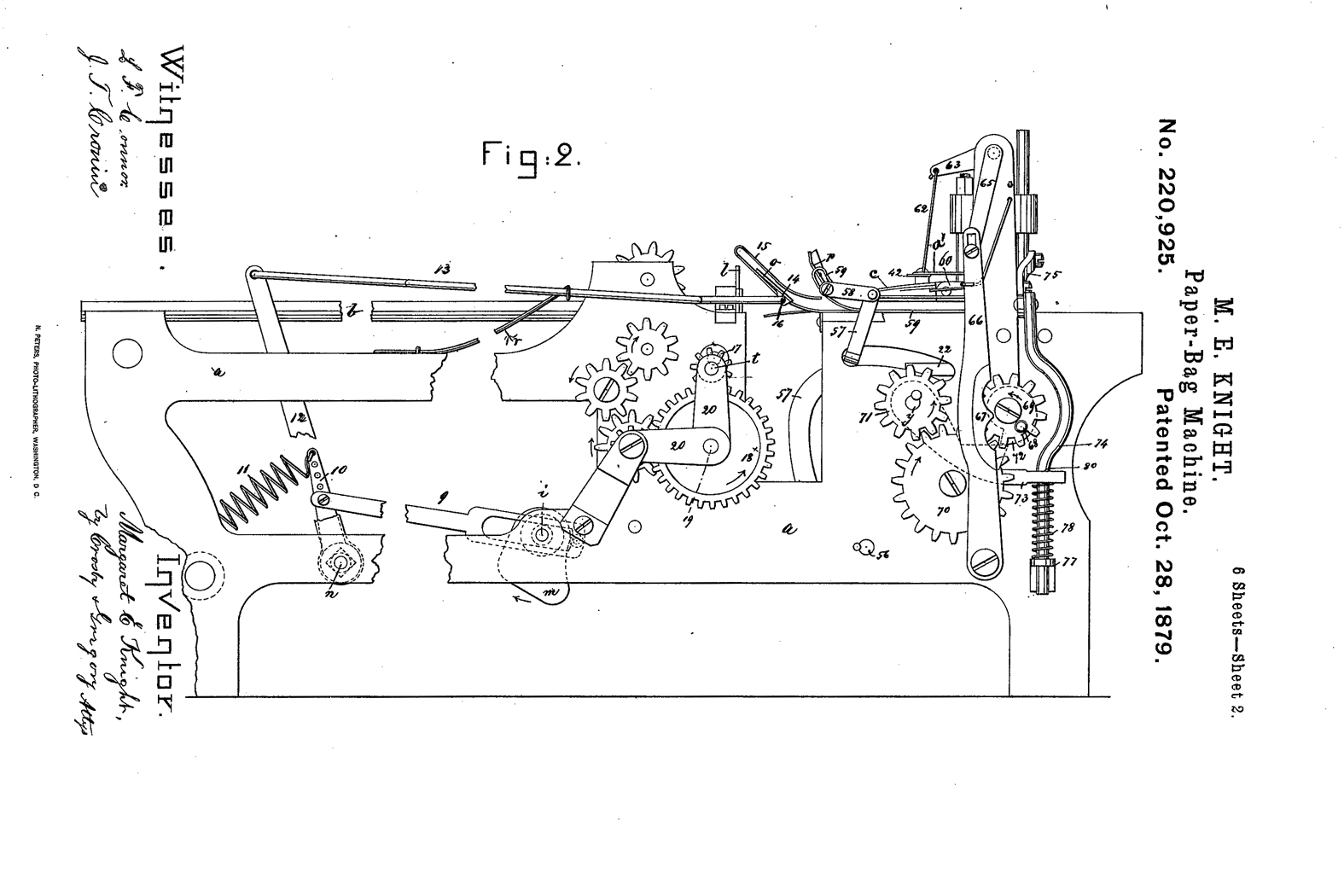 Margaret Knight Invents A Machine To Make Flat Bottom